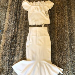 NY & C white two piece